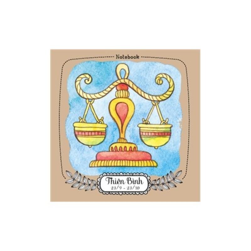Mua Notebook: 12 cung hoàng đạo - Thiên Bình (ML07)