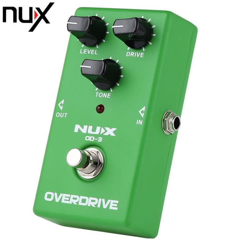 NUX OD - 3 Vintage Overdrive Booster Guitar Effect Pedal True Bypass Design (Green) - intl