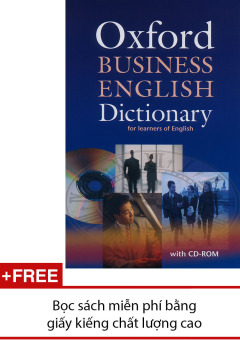 Oxford Business English Dictionary (kèm CD-ROM)