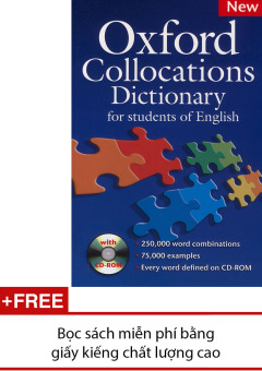 Oxford Collocations Dictionary (kèm CD-ROM) - 8282121 , NH526MEAA1YI28VNAMZ-3325851 , 224_NH526MEAA1YI28VNAMZ-3325851 , 402000 , Oxford-Collocations-Dictionary-kem-CD-ROM-224_NH526MEAA1YI28VNAMZ-3325851 , lazada.vn , Oxford Collocations Dictionary (kèm CD-ROM)