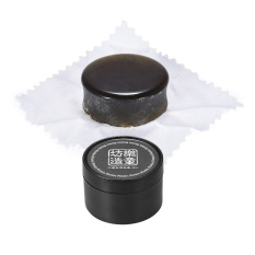 Rosin Resin Colophony Low Dust Handmade with Plastic Box Universal for Bowed String Instruments Violin Viola Cello Erhu,Black – intl