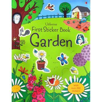 Sach Mieng Dan Ghep Chu De Khu Vuon First Sticker Book Garden