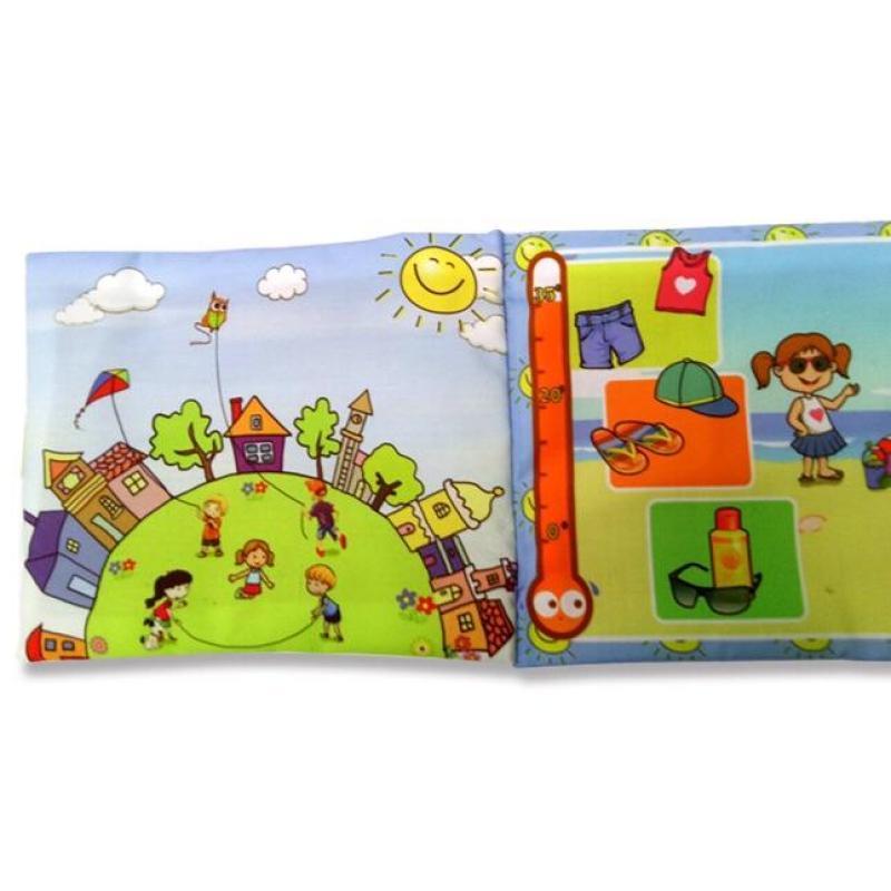 Mua Sách vải cho bé chơi mà học Pipo - Thời tiết