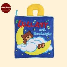 Sách vải thông minh cho bé – Chú gấu Lullaby