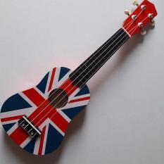 Chi tiết sản phẩm Soprano ukulele màu xanh trơn