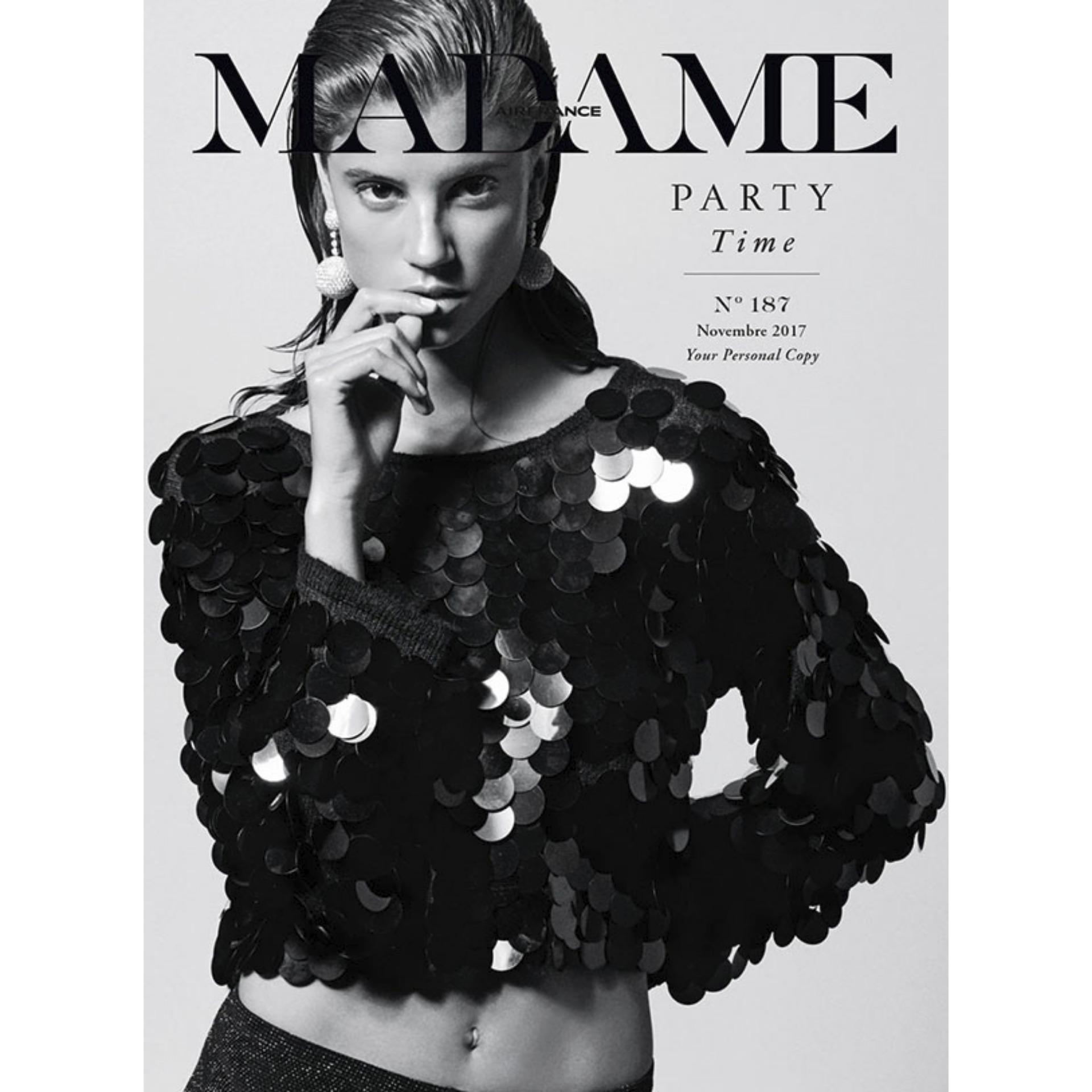 Tạp chí Air France Madame - Novembre 2017