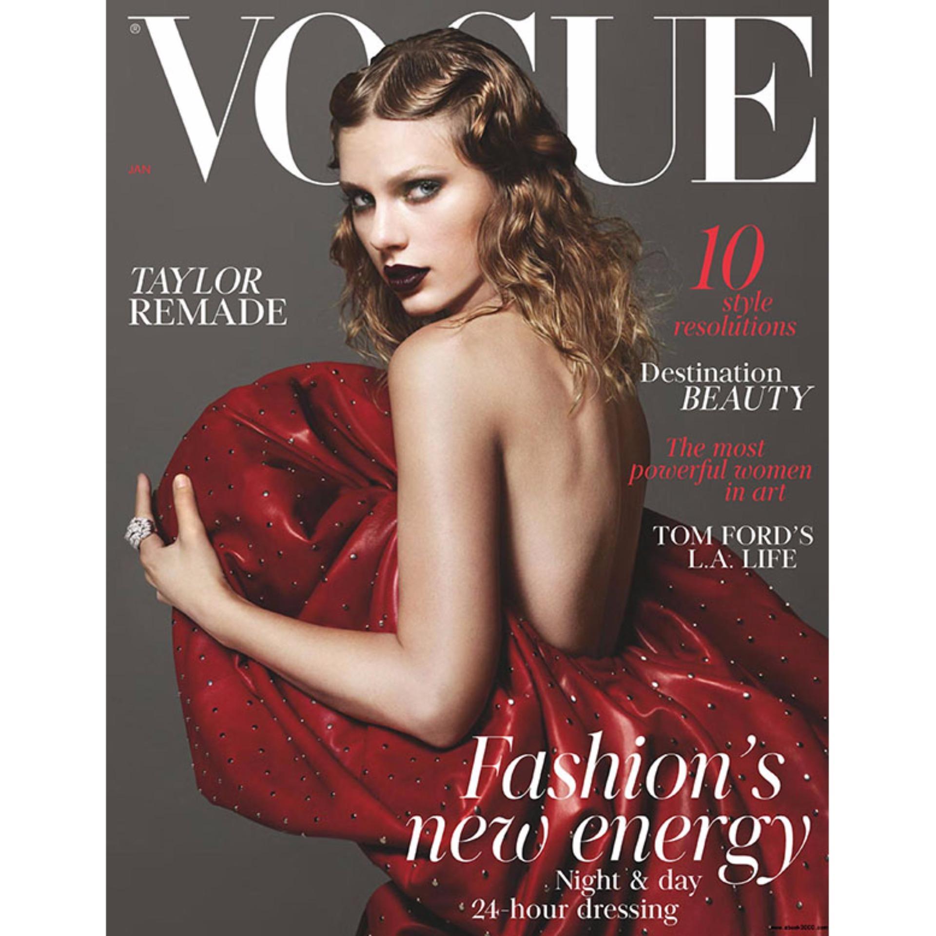 Tạp chí Vogue (British) - January 2018