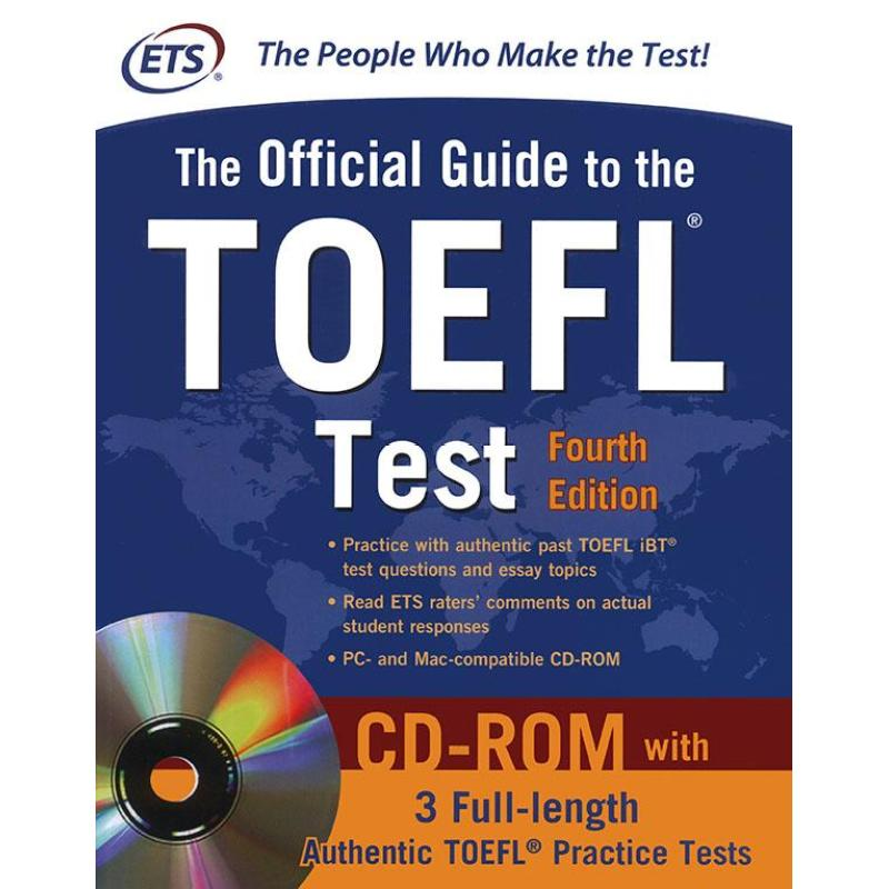 Mua The Official Guide to the TOEFL Test (kèm CD)