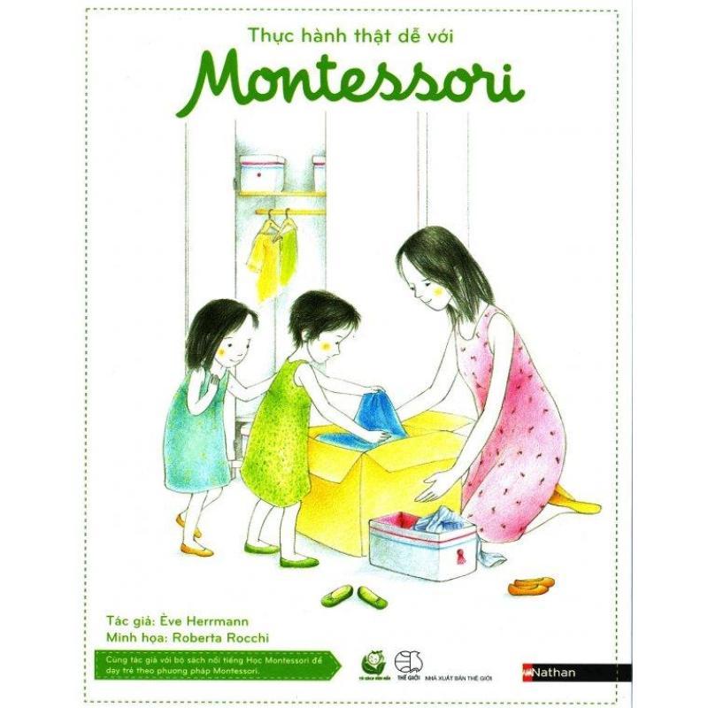 Mua Thực Hành Thật Dễ Với Montessori (Hộp 8 Cuốn) - Ève Herrmann,Phạm Nhàn,Tuấn Linh