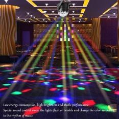 TMISHION 3W 110~240V Mini RGB LED Magic Ball Stage Light Pub Effect Lamp (US Plug)