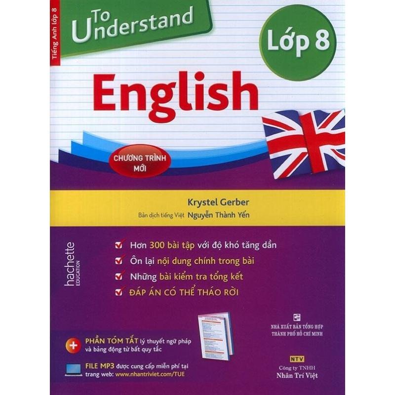 Mua To understand English - Lớp 8 (kèm CD)