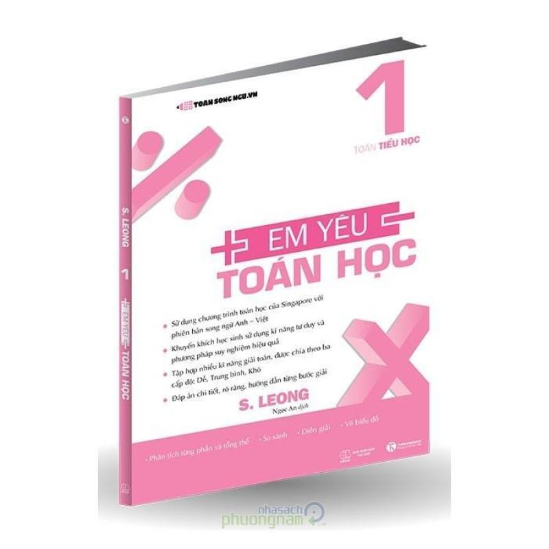 Mua Toán Tiểu Học - Em Yêu Toán Học 1 (Song ngữ Anh-Việt)