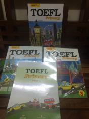 Toefl Primary Step 1 book1,2,3 + Toefl Primary step 1 practice test