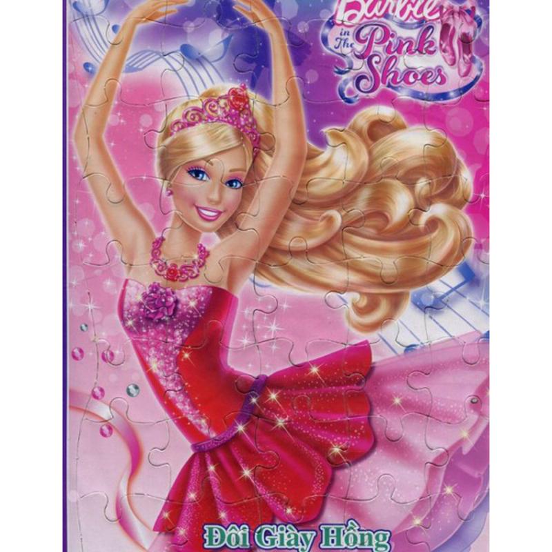Mua Tranh Ghép Hình Barbie - Đôi Giày Hồng