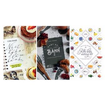 Ebook Trọn Bộ 3 Cuốn Nhật Ký Học Làm Bánh PDF