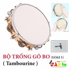 Trống Lắc Tay – Lục Lạc Gõ Bo Tambourine Cao Cấp L1