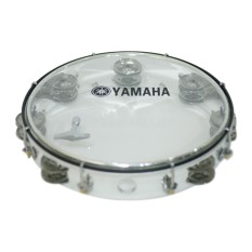 Trống lắc tay Tambourine Yamaha MT6-102A (Trắng)