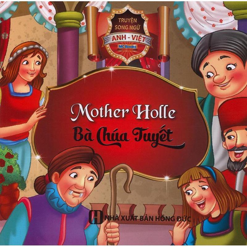 Mua Truyện song ngữ Anh Việt - Mother Holle - Bà chúa tuyết