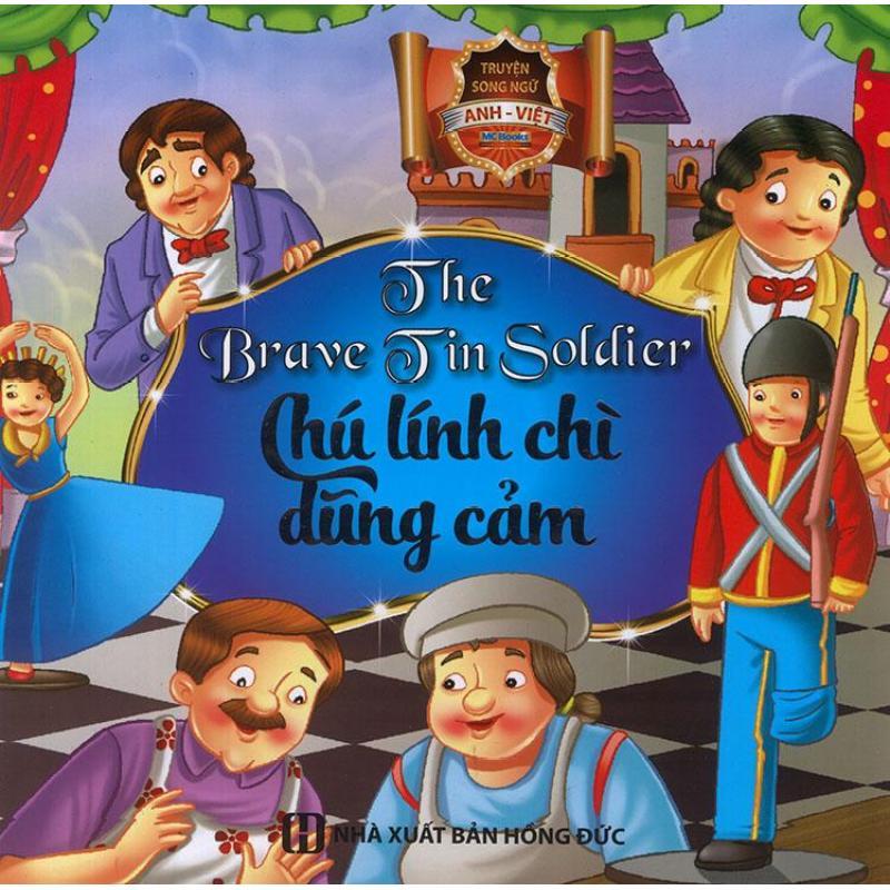 Mua Truyện song ngữ Anh Việt - The brave tin soldier - Chú lính chì dũng cảm