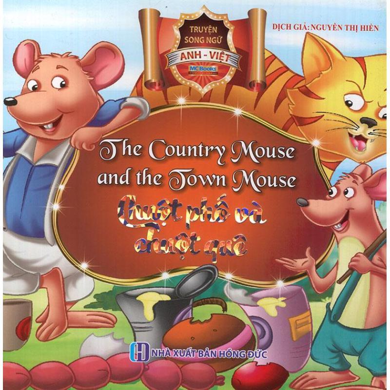 Mua Truyện song ngữ Anh Việt - The country mouse and the town mouse - Chuột phố và chuột quê