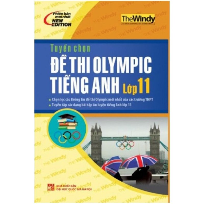 Mua Tuyển Chọn Đề Thi Olympic Tiếng Anh Lớp 11