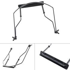 Universal 10 Holes Iron Harmonica Neck Holder Adjustable Mouth Organ Stand Harmonica Harp Rack – intl