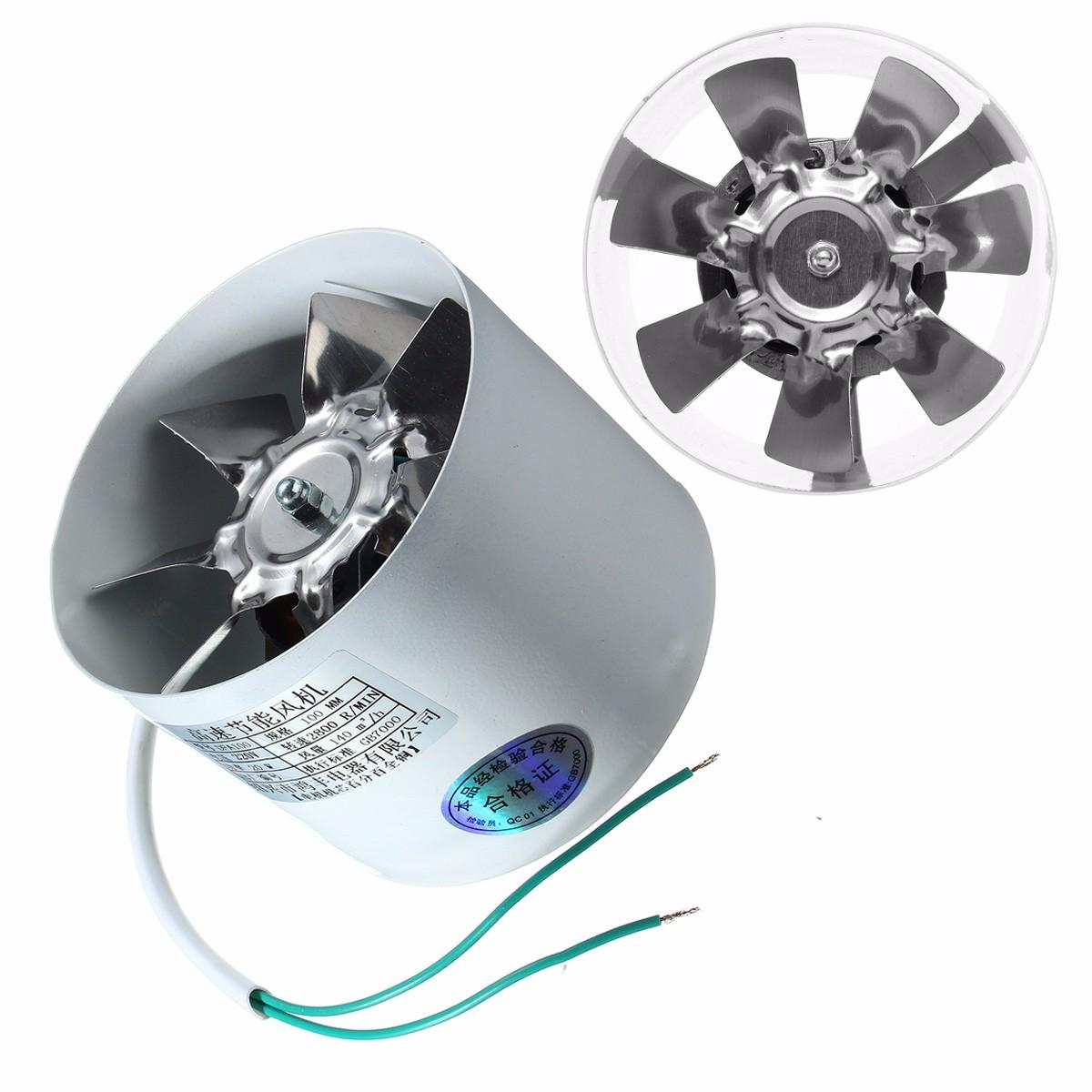 Quạt kim loại thông hơi tống khí thải đường ống trong 4″ – Quốc tế