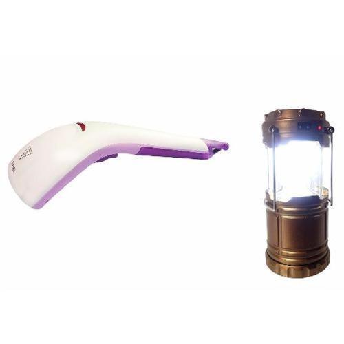 Bàn là hơi nước cầm tay cao cấp Fiamma + Tặng kèm đèn tích điện dã ngoại kiêm cổng sạc điện thoại