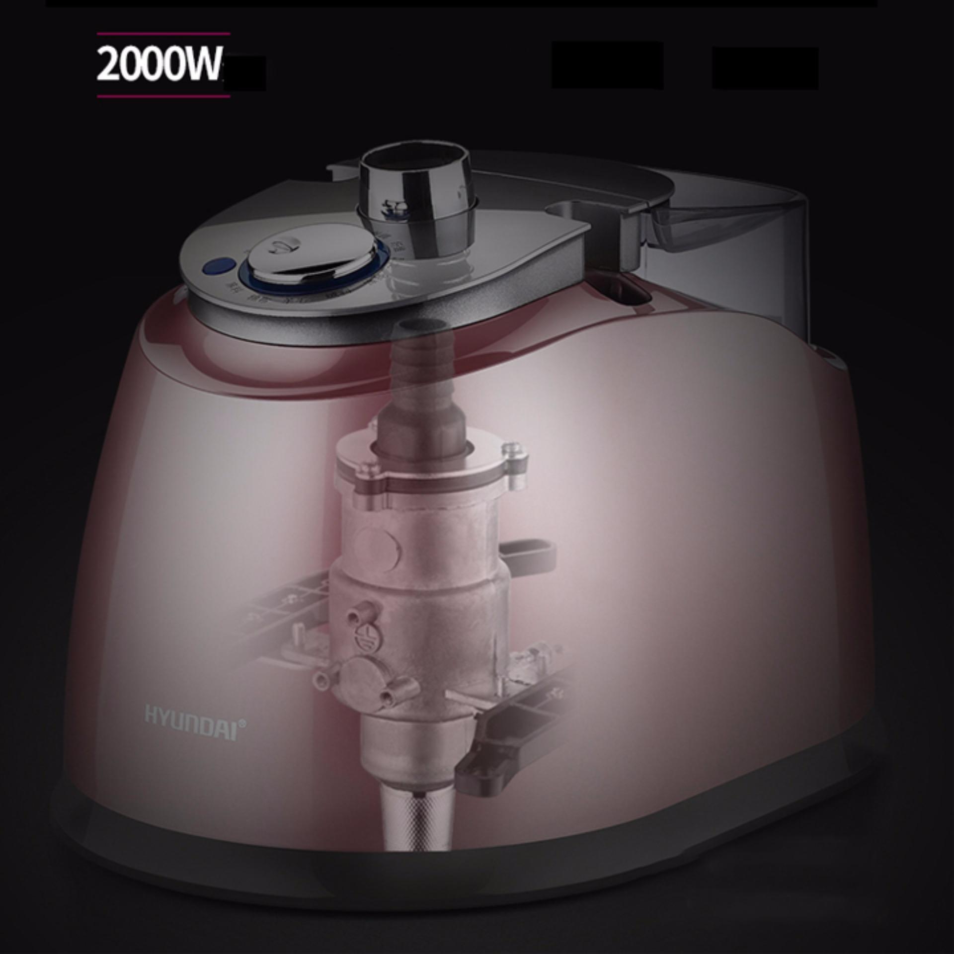 Bàn là hơi nước đứng Hyundai 2000W - Tặng Gang Tay Bảo Vệ