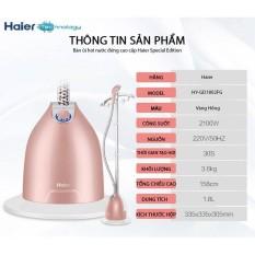 Bàn là ủi hơi nước đứng Haier (model 2017)- Hàng nhập khẩu