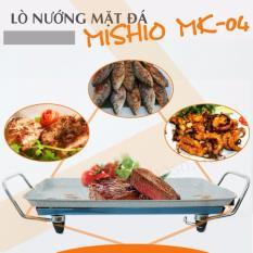 Bàn Nướng Điện Mặt Đá Nguyên Khối Mishio