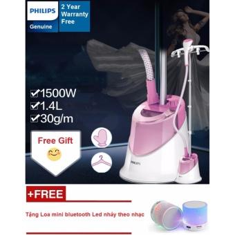 Bàn ủi hơi nước đứng Philips GC504 (Hồng) - Hàng nhập khẩu + Tặng01 Loa Bluetooth đèn led nháy theo nhạc - 8689933 , PH846HAAA5J8HGVNAMZ-10159298 , 224_PH846HAAA5J8HGVNAMZ-10159298 , 2390000 , Ban-ui-hoi-nuoc-dung-Philips-GC504-Hong-Hang-nhap-khau-Tang01-Loa-Bluetooth-den-led-nhay-theo-nhac-224_PH846HAAA5J8HGVNAMZ-10159298 , lazada.vn , Bàn ủi hơi nước đứ