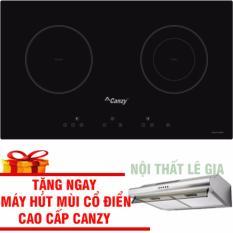 Bếp Điện Từ Canzy CZ 3002GS (đổi mẫu sang Canzy 06H) Tặng Hút Mùi Cổ Điển Canzy Cao Cấp