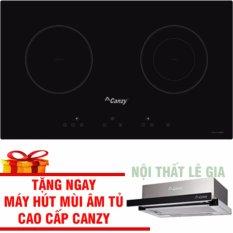 Bếp Điện Từ Canzy CZ 3002GS (đổi mẫu sang Canzy 06H) Tặng Máy Hút Mùi Âm Tủ Canzy Cao Cấp