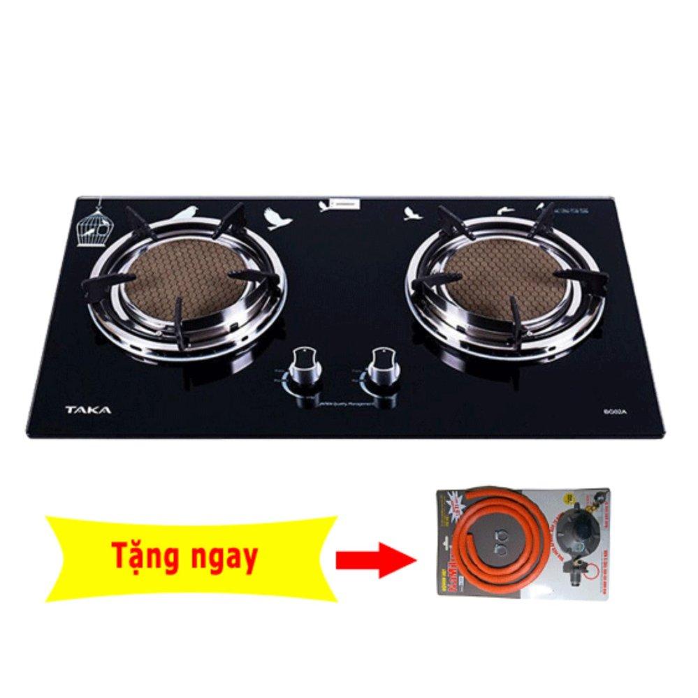 Chi tiết sản phẩm Bếp gas âm hồng ngoại Taka BG02A(Đen)