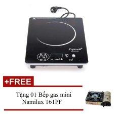 Bếp hồng ngoại Fujicook HC 89 (Đen) + Tặng 01 Bếp gas mini Namilux 161PF