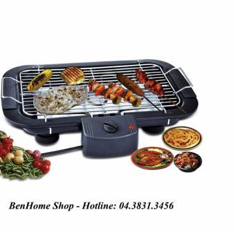 Bếp nướng điện không khói BBG cao cấp + Tặng móc khóa báo động chống trộm