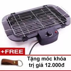 Bếp nướng điện không khói Electric 2017 (Đen) + Tặng móc khóa