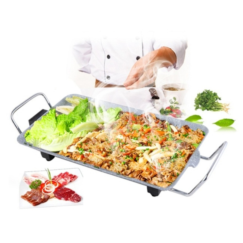 Bếp Nướng Điện Không Khói Vân Đá Sang Trọng DH-SS01 .1005 8729