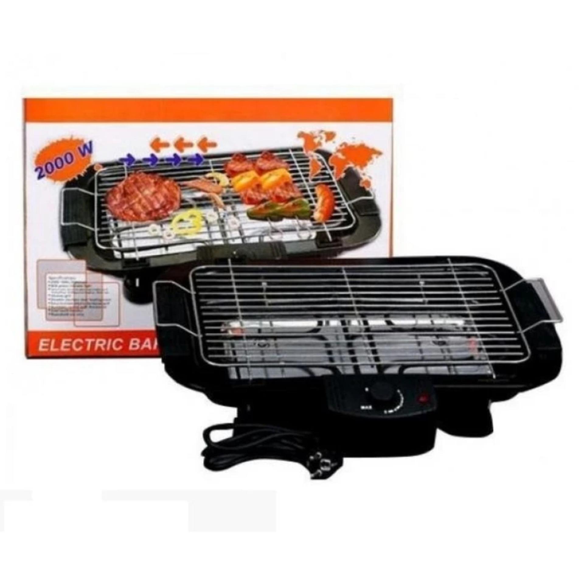 Nơi Bán Bếp nướng không khói Electric barbecue grill 2000W (Đen)