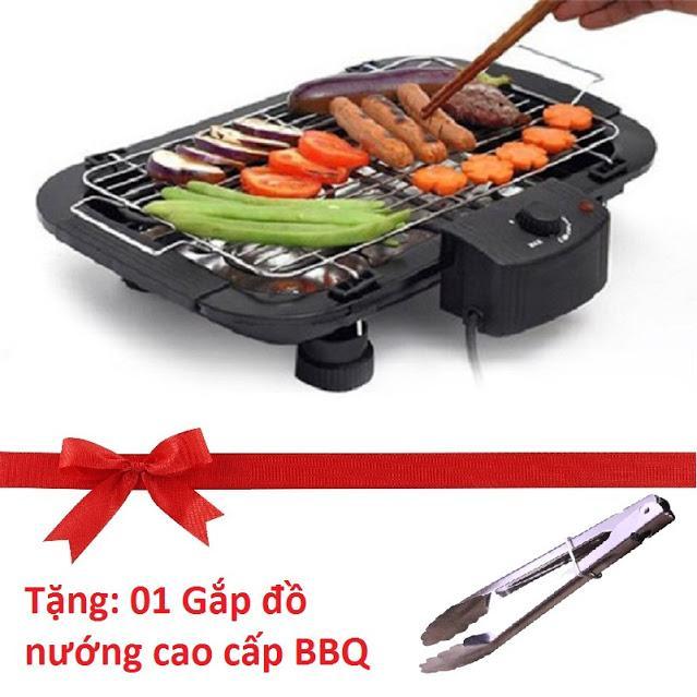 Vì sao mua Bếp nướng không khói ELECTRIC GRILL – Sự lựa chọn cho mọi gia đình (Tặng kèm 01 gắp đồ nướng BBQ)