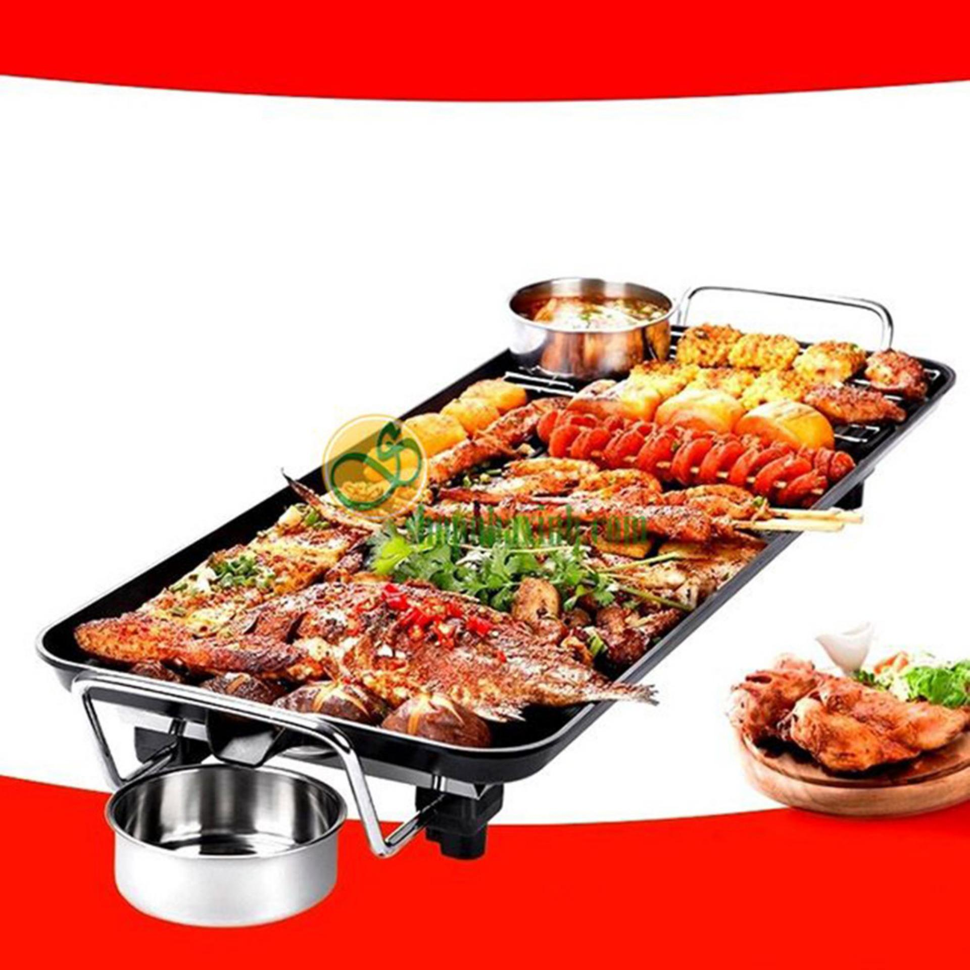 Nơi mua Bếp nướng than hoa giá rẻ, Bep nuong khong khoi gia re – Bếp nướng không khói SS69 – Dòng sản phẩm Cao cấp, loại kích thước lớn Mẫu 455 – Bh uy tín 1 đổi 1 bởi TECH-ONE