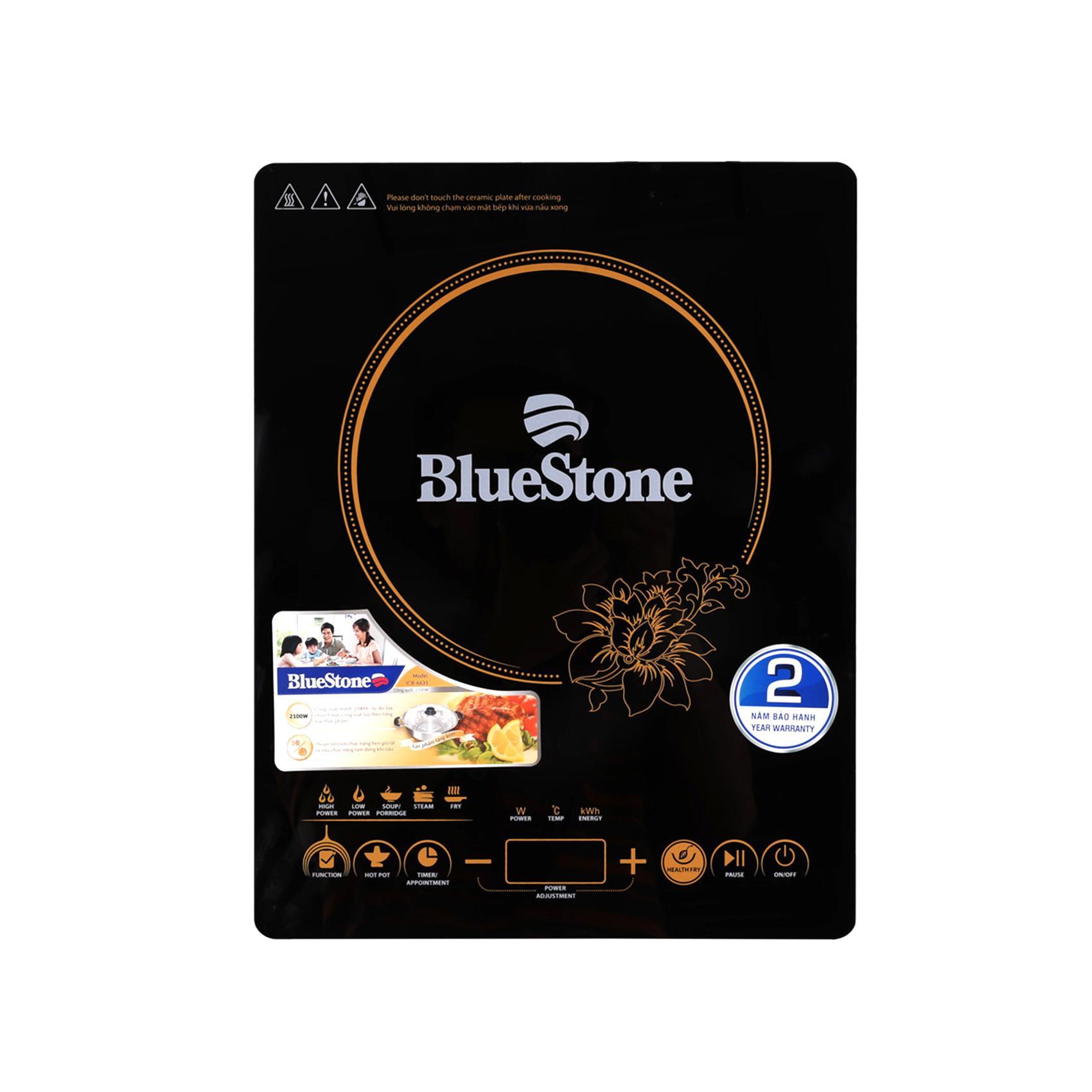 Bếp từ mặt kính cường lực BlueStone ICB-6633