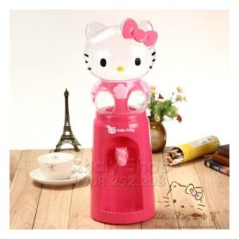 Bình lọc nước , rót nước , đầu Hello Kitty2000ml (2 Lít) màu hồng đậm ,kiểu dáng đáng yêu dành cho các bé gái ,bạn gái , học sinh và trang trí phòng (16.5x 15.5x 46) - BLNKT2L