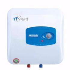 Bình nóng lạnh Chống Giật Rossi TI Smart 15 lít (White) Tráng kim cương nhân tạo