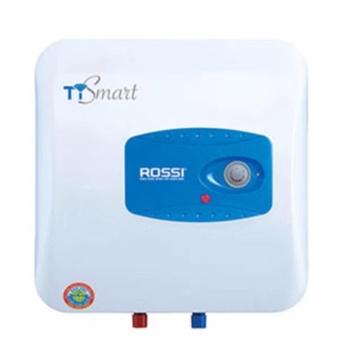 Chỗ nào bán Bình nóng lạnh Rossi TI Smart 15 lít (White) Tráng kim cương nhân tạo