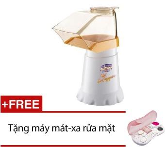 Bộ 1 Máy làm bắp rang bơ Hot Air Popper Popcorn Model Ichibai và 1 Máy Massage rửa mặt 7 In 1 HH3