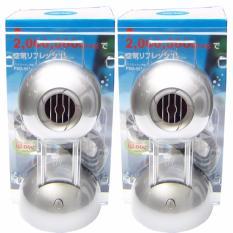 Bộ 2 máy lọc không khí tạo Ion Âm OCTA Nhật Bản