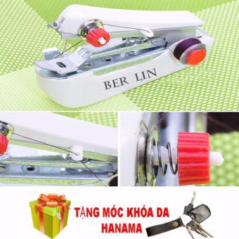 Bộ 2 máy may mini cầm tay ( tặng móc khóa hanama )
