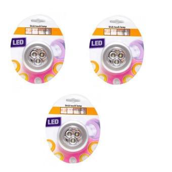 Bộ 3 đèn LED dán tường đa năng Ichibai Stick Touch Lamp (Trắng) - 8075129 , BR603HAAA0T571VNAMZ-1008867 , 224_BR603HAAA0T571VNAMZ-1008867 , 338300 , Bo-3-den-LED-dan-tuong-da-nang-Ichibai-Stick-Touch-Lamp-Trang-224_BR603HAAA0T571VNAMZ-1008867 , lazada.vn , Bộ 3 đèn LED dán tường đa năng Ichibai Stick Touch Lamp (Trắng)